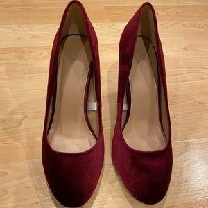 Burgandy Heels